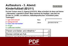 E-Jugend Fußball