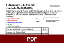 D-Jugend Fußball