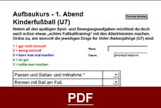 Bambini-Fußballtrainer