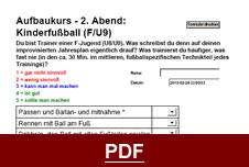 F-Jugend Fußball