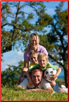 Fußball und Familie