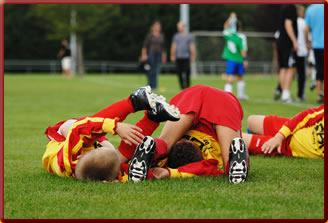 Fußball ist Spaß
